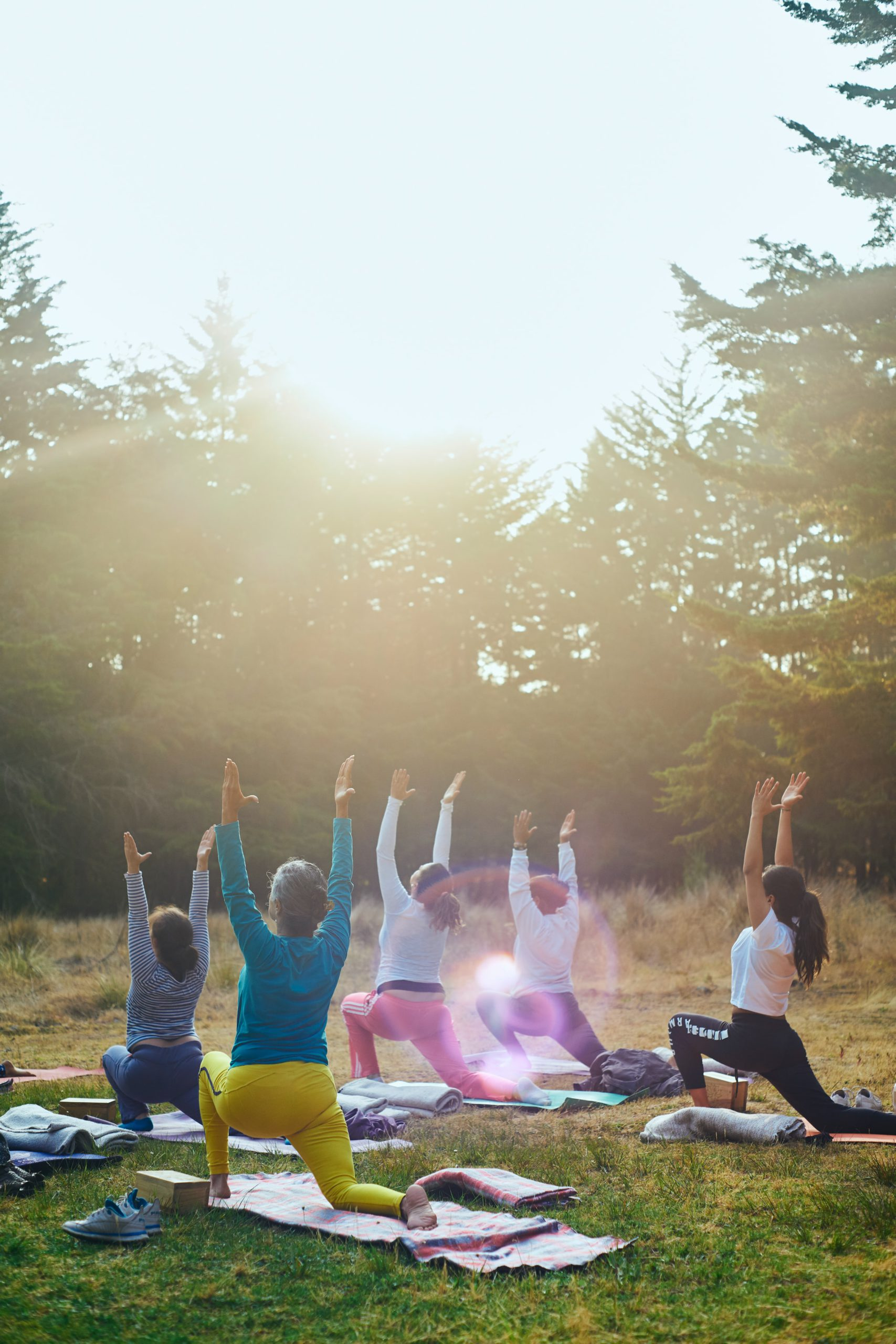 ReShape Life - Yoga Class Outdoors